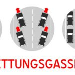 Rettungsgasse rettet Leben!