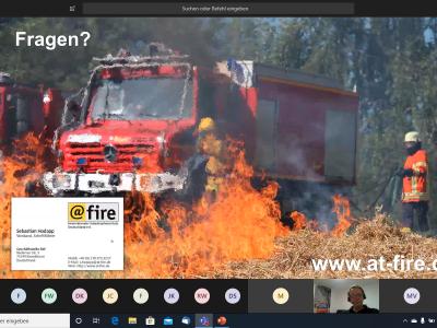 Vorgehen bei Vegetationsbränden