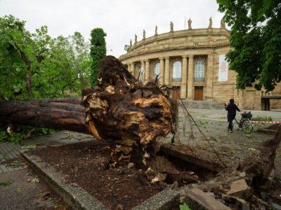 Stadt Stuttgart zieht Bilanz nach den Unwettern