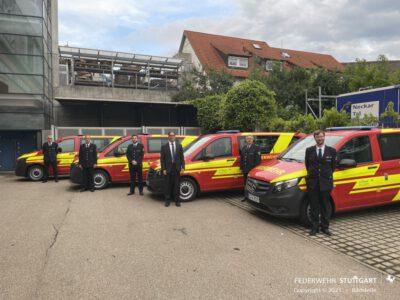 neuer Mannschaftstransportwagen für die Feuerwehr Riedenberg